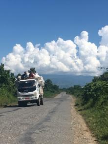 Vervoer van goederen en mensen.