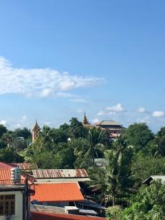 Boeddhistisch klooster.