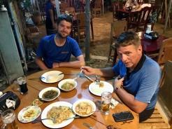 Dinner in Bagan.