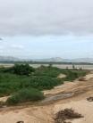 Landschap in centraal Myanmar.