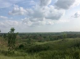 Landschappen in centraal Myanmar.