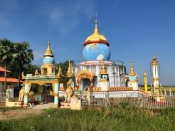 Wereldbol pagoda.