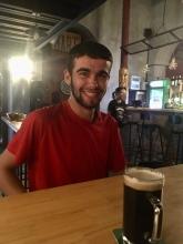 Annatole, jonge fietser uit Luik, op weg naar huis!