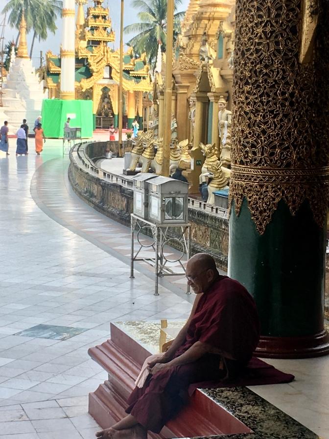 Boeddhistische monnik.