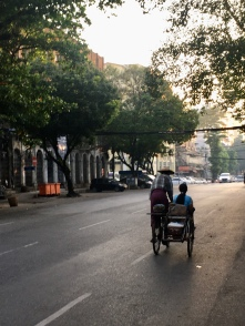 Ook fietsen in Yangon!