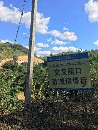 Dichtbij de Chinese grens.