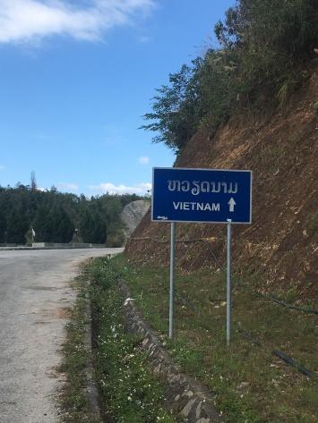 Bijna in Vietnam.