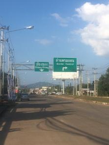 Bijna in Laos.
