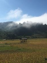 Laos in de ochtend.