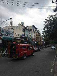 Typisch transportmiddel in Chiangmai.
