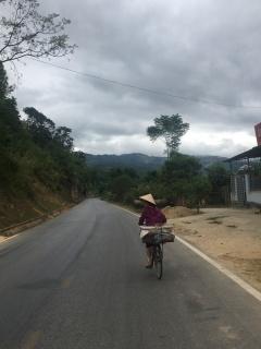 Typisch Vietnamees hoedje.