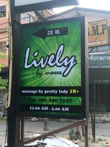 Typisch Thailand...
