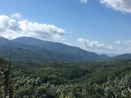 Laotiaans landschap.