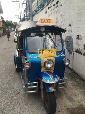 Taxi in Chiangmai.