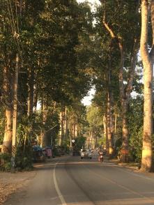 Mooie weg in Thailand.
