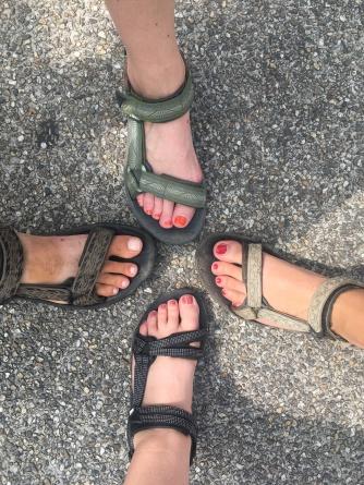 Teva-club. Welke is mijn voet?