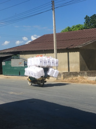 Transport in Laos .