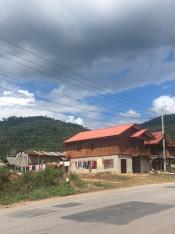 Huizen in Laos.