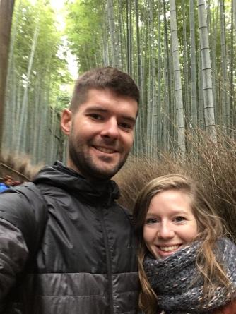 Samen in Kyoto.