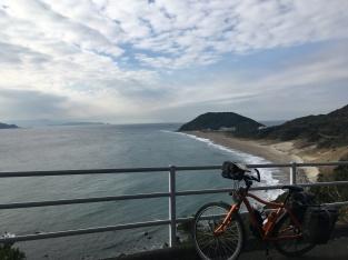 Veel mooie kust in Japan.