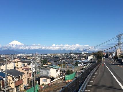 Op weg richting Mt. Fuji.