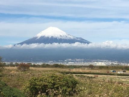 Mt. Fuji.