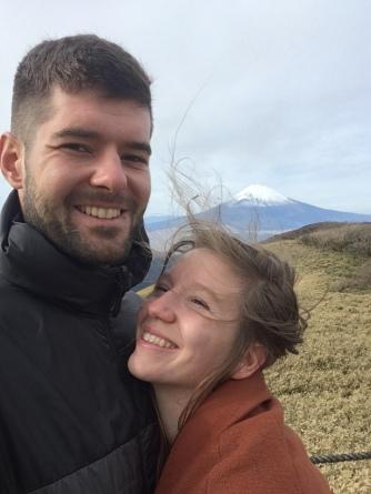 Samen aan Mt. Fuji.