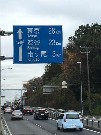 Tokio is in zicht.