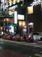 Real life Mario Kart in Tokio.