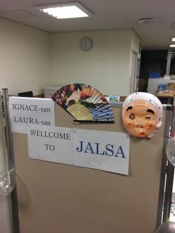 JALSA goodbye party.