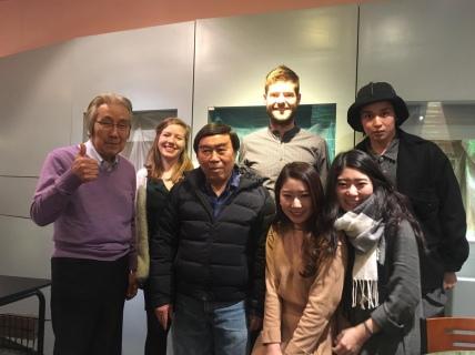 Familie Tamura.